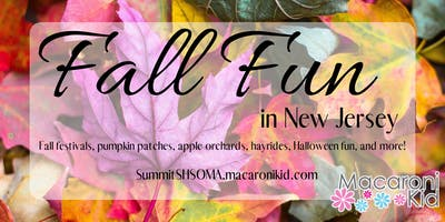 2019 Fall Guide for Union, Essex, and Morris County NJ
