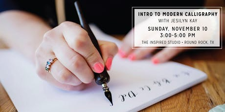 Intro to Modern Calligraphy with Jesilyn Kay tickets