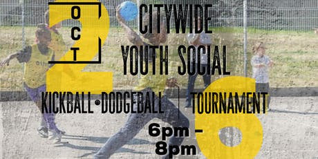 Citywide Youth Social tickets