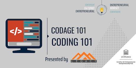 CEE: Codage 101 | EMC: Coding 101 billets