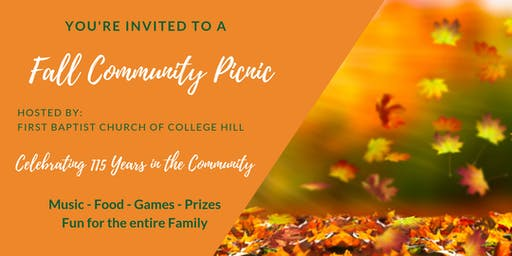 Fall Community Picnic