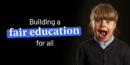 Teach First Presentation for students in Edinburgh