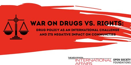 War on Drugs vs. Rights: Drug Policy as an International Challenge tickets