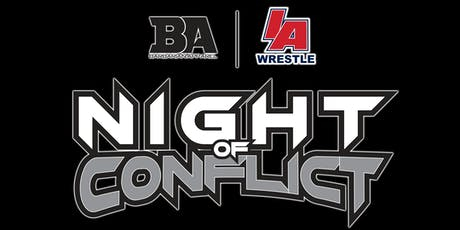 IAwrestle's Night of Conflict tickets