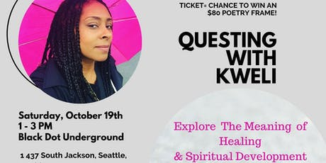 Questing with Kweli tickets