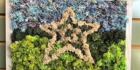 Moss Art - Star or DIY Design tickets
