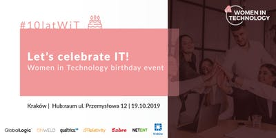 Let's celebrate IT! Women in Technology birthday event