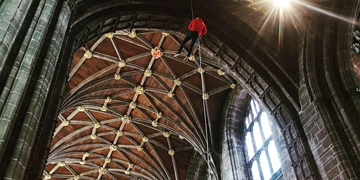 Chester Cathedral Abseil