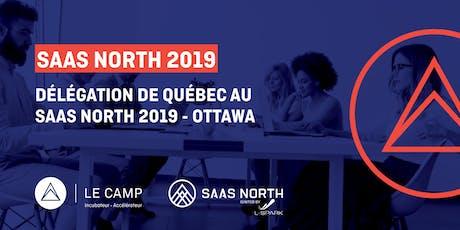 SaaS North 2019 - Délégation de Québec tickets
