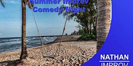 Summer Improv Comedy Night (Basingstoke, Hampshire) tickets