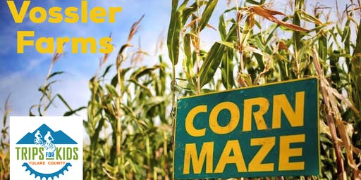 Trips for Kids Corn Maze Night, on BIKES!