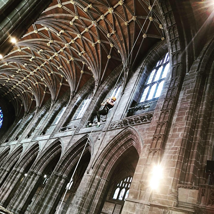 Chester Cathedral Abseil image