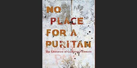 """""""No Place for a Puritan"""" reading with Inlandia Institute tickets"""