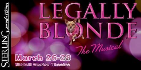 Legally Blonde - Saturday tickets