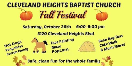 Fall Festival- Cleveland Heights Baptist Church
