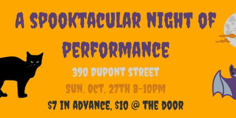 A Spooktacular Night of Performance tickets