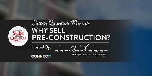 Why sell Pre-Construction? with Nancy Badria from In2ition Realty