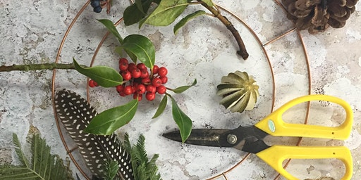Christmas Wreath Making Workshop (morning OR afternoon  available)