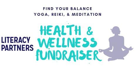 Literacy Partners Health & Wellness Fundraiser tickets