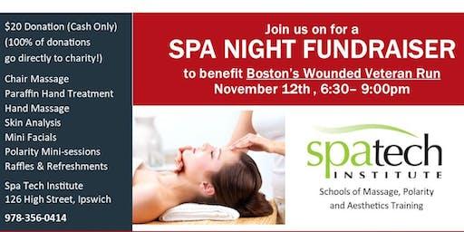 Spa Night Fundraiser