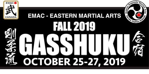 "2019 EMAC Fall Gasshuku: ""The Gathering"""