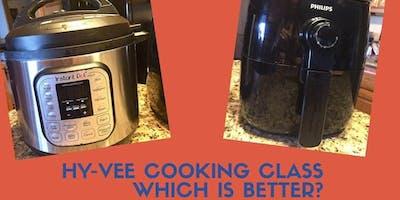 Pressure Cooker vs Air Fryer Throwdown at 84th Street Hy-Vee