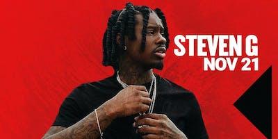 STEVEN G performing live