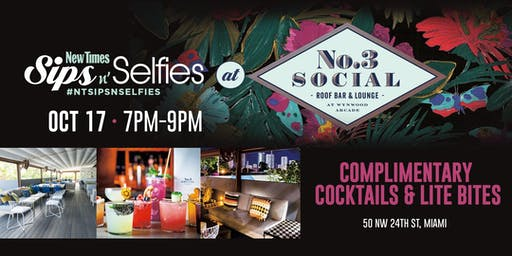New Times' Sips N Selfies at No. 3 Social