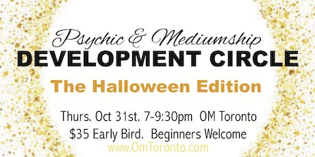 PSYCHIC MEDIUMSHIP DEVELOPMENT CIRCLE tickets