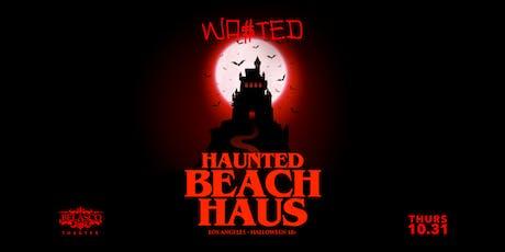 HAUNTED BEACH HAUS x HALLOWEEN x LOS ANGELES tickets