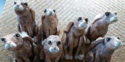 Moon-Gazing Hare Sculpting Workshop