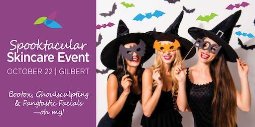 Spooktacular Skincare Event