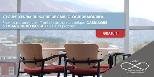 Groupe d'entraide Institut de Cardiologie de Montréal - 24 octobre 2019
