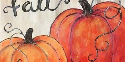 Painting Night for Madrid Art Fundraiser