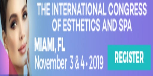 BOOTH 126 AT INTERNATIONAL CONGRESS OF ESTHETICS AND SPA MIAMI, FL