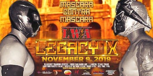 LWA: LEGACY IX (Live Pro Wrestling)