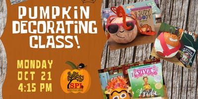 Pumpkin Decorating Class