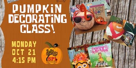 Pumpkin Decorating Class tickets