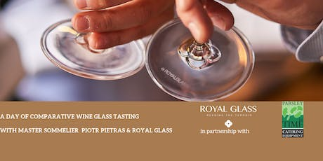 Master Sommelier Piotr Pietras x Royal Glass Workshop tickets