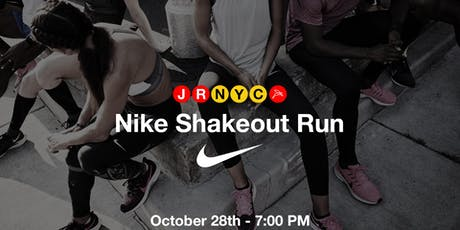 Nike Shake Out Run tickets