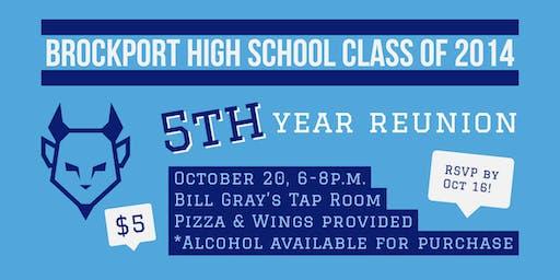 Brockport High School Class of 2014: 5th Year Reunion
