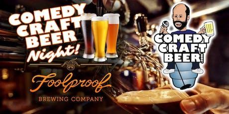 Foolproof Comedy Night tickets