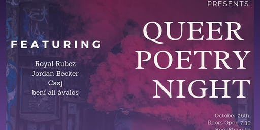 Queer Poetry Night