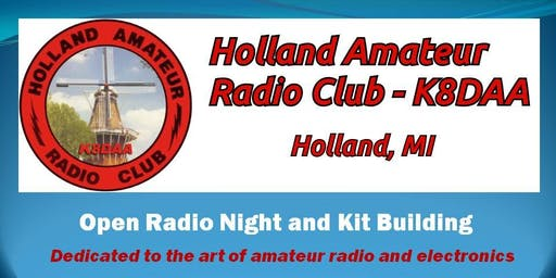 Holland Amateur Radio Club Kit Building / Radio Night