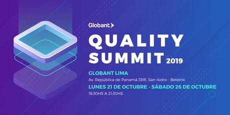 Quality Summit Lima tickets
