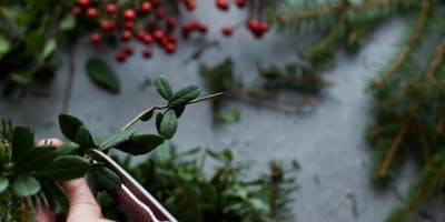 Create Your Wreath at Trails Edge Brewery with Alice's Table
