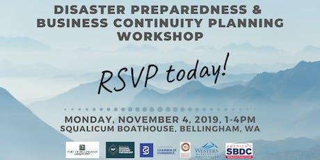 Disaster Preparedness & Business Continuity Planning Workshop tickets
