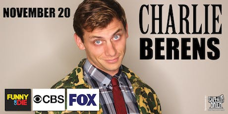 Comedian Charlie Berens Live In Naples, FL Off the hook comedy club tickets