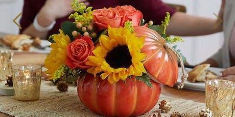 Floral Design Workshop - Harvest Traditions Pumpkin tickets