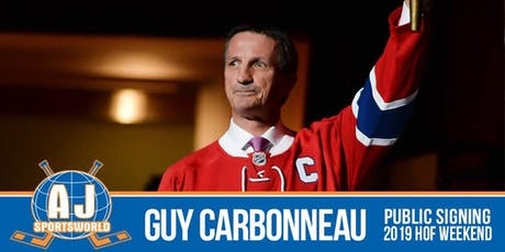 Guy Carbonneau In Store  Signing tickets